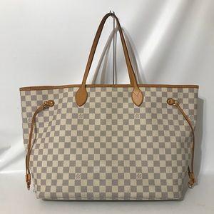 Authentic Louis Vuitton Damier Azur Neverfull GM